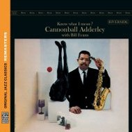 【CD輸入】 Cannonball Adderley/Bill Evans キャノンボールアダレィ/ビルエバンス / Know What I Mean? (Original Jazz Class