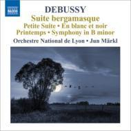 【CD輸入】 Debussy ドビュッシー / 管弦楽作品集第6集(ベルガマスク組曲、小組曲、交響組曲『春』、他) 準・メルクル&リ