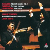 【SHM-CD国内】 Paganini パガニーニ / パガニーニ:ヴァイオリン協奏曲第1番、ワックスマン:カルメン幻想曲、サン=サーン