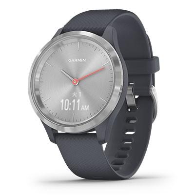 【有名人芸能人】 vivomove Granite スマートウォッチ010-02238-70 VIVOMOVE-3S-SLBL[VIVOMOVE3SSLBL]【返品種別A】 3S Blue/Silver ガーミン-その他腕時計