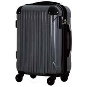 シフレ B5851T-Mカ-ボンBK スーツケース ハードジッパーキャリー M 58~68L(カーボンブラック)serio[B5851TMカボンBK]【返品種別B】