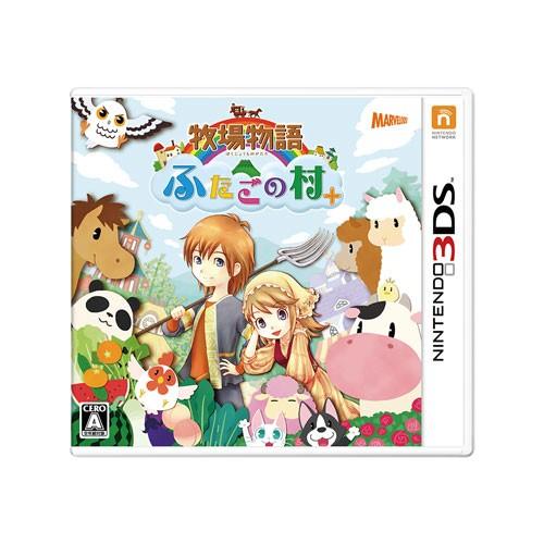 【3DS】牧場物語 ふたごの村+ CTR-P-A22J 3DSボクジョウモノガタリ フタゴノムラ【返品種別B】