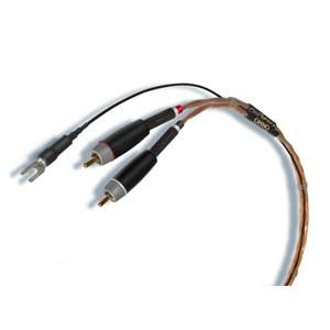 【使い勝手の良い】 オーディエンス フォノケーブル《OHNO AUDIENCE OHNO-P.MM-D-R1.25【返品種別A】 Phono MM cable》1.25m(ペア)【DIN⇔RCA】-オーディオ