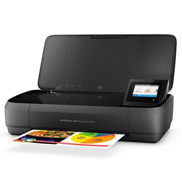 正規激安 250 Mobile HP OfficeJet HP CZ992A#ABJ【返品種別A】 A4カラープリント対応 インクジェットプリンタ複合機 AiO(CZ992A#ABJ)-プリンター・インク