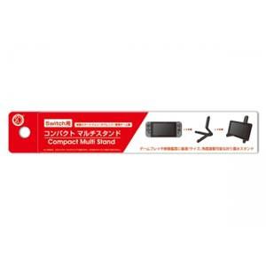 コンパクトマルチスタンド(Switch用/各種スマートフォン/タブレット/携帯ゲーム用) CC-NSCMS-BK【返品種別B】
