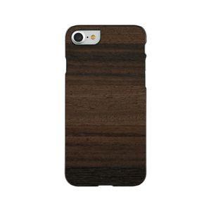 Man&Wood I10502I7S iPhone 8/7用 天然木ハードケース FANGO ブラックフレーム[I10502I7S]【返品種別A】