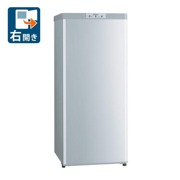 【超歓迎された】 三菱 MF-U12D-S 121L 冷凍庫【右開き】シャイニーシルバー【フリーザー】MITSUBISHI[MFU12DS]【返品種別A】, イズミグン 1c091cef