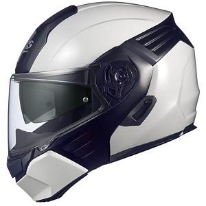 人気TOP OGKカブト KAZAMI-WMBK-L システムヘルメット(ホワイトメタリック/ブラック [L])KAZAMI[OKAZAMIWMBKL]【返品種別B】, Bun!Bo!グ! e290f506