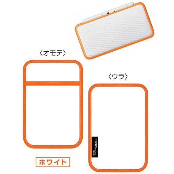 【New2DS LL】Newニンテンドー2DS LL専用スリップインポーチ ホワイト JANP-01WH【返品種別B】