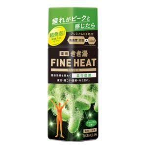 バスクリン きき湯 ファインヒート レモングラスの香り 400g  キキユフアインヒ-トレモングラス400【返品種別A】