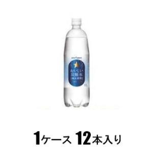 ポッカサッポロ おいしい炭酸水 1L(1ケース12本入) オイシイタンサンスイ1000MLX12[オイシイタンサンスイ1000MLX12]【返品種別B】