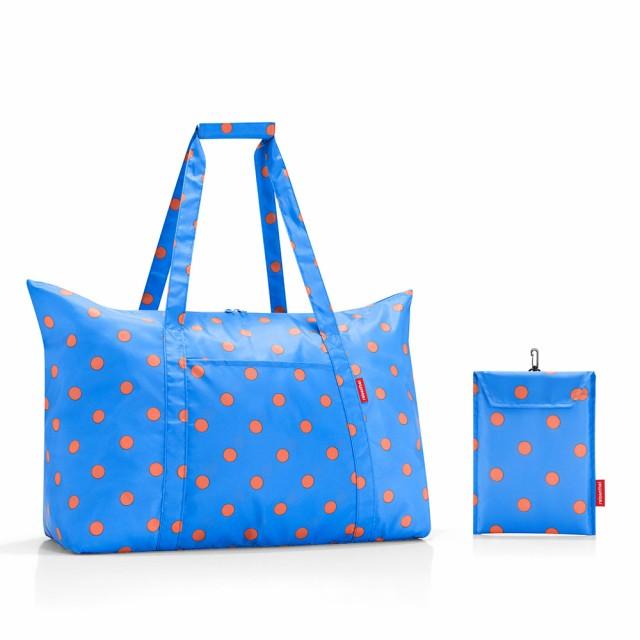 即日発送 送料無料 【SALE】reisenthel Mini Maxi Travelbag Azure dots ライゼンタール ミニマキシ トラベルバッグ 送料無料 s50