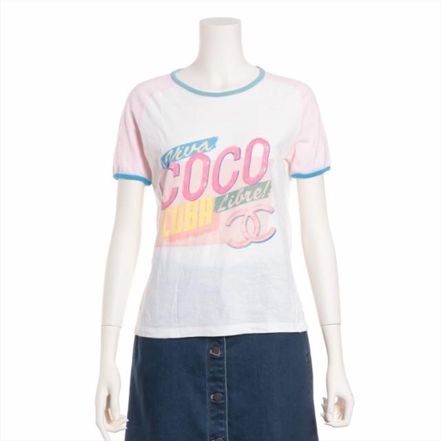 人気商品の シャネル コットン Tシャツ XS レディース ホワイト, 塚本無線 6a527c20