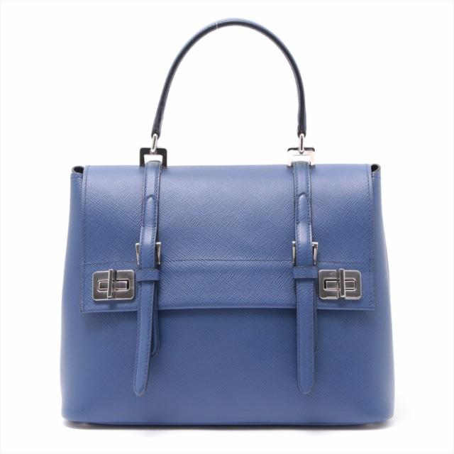 品質が プラダ サフィアーノ サフィアーノ 2WAYショルダーバッグ ブルー ブルー BN2821, 名寄市:df530e4e --- nak-bezirk-wiesbaden.de