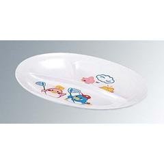 エンテック ENTEC お子様食器 ベン&ベティー 小判 ランチ皿(小) BB-12 キッチン用品