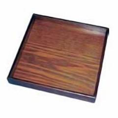 丸十 MARUJYU 木製 角皿 宴 21cm キッチン用品