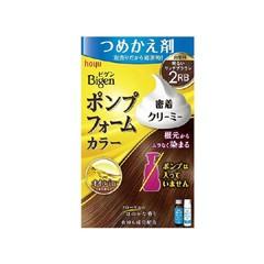 ホーユー HOYU ビゲン ポンプフォームカラー つめかえ剤 明るいリッチブラウン ヘアケア