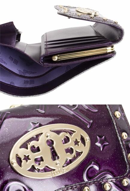 アナスイ 財布 三つ折り財布 がま口財布