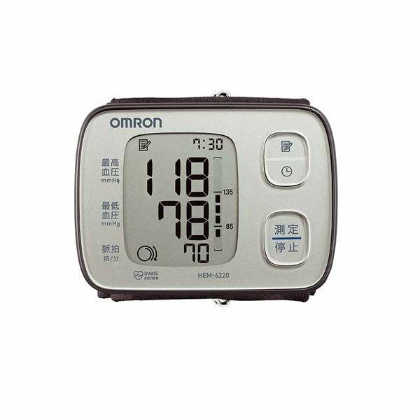 オムロン デジタル自動血圧計 手首式No83 家庭用/HEM-6220-B/HEM-6220-PK/HEM-6220-SL