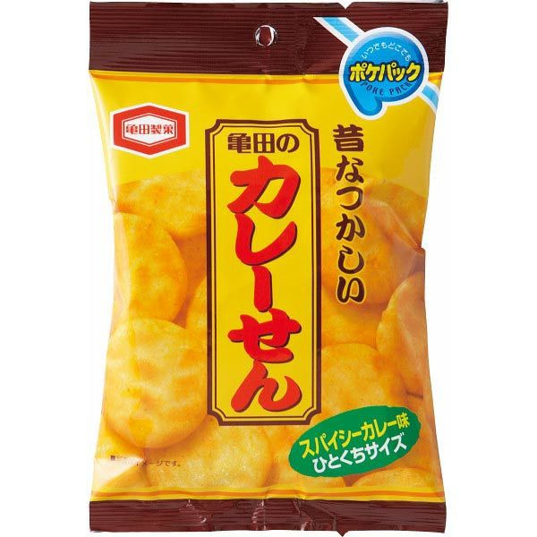 カレーせんポケパック 亀田製菓 和菓子/