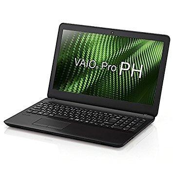 【日本限定モデル】 PH(15.5型ワイド/i3/4G/HDD500G/1366x768/TPM/DVD/Win10Pro/黒/VAIO株式会社製)(VJPH111PAL1B) VAIO Pro ソニー-パソコン本体