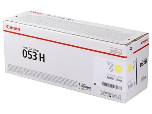 【希少!!】 イエロー(2191C001) CANON CRG-053HYEL トナーカートリッジ053 H-PCアクセサリ・サプライ