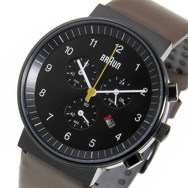 最高品質の ブラウン BRAUN ブラック クロノ BRAUN クロノ クオーツ メンズ 腕時計 BN0035BKBRG ブラック ブラック(バンド調整器付), BEAM ANTENNA:99a95ff3 --- 1gc.de