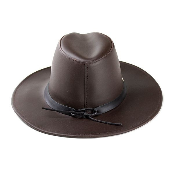 オールシーズ アメリカ ヘンシェル社製 本革カウボーイハット 濃茶 帽子 メンズ レディース HENSCHEL