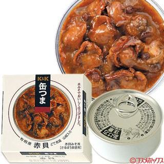 国分 K&K 缶つま 有明産 赤貝 どて煮風 山椒入り 固形量50g(内容総量70g)