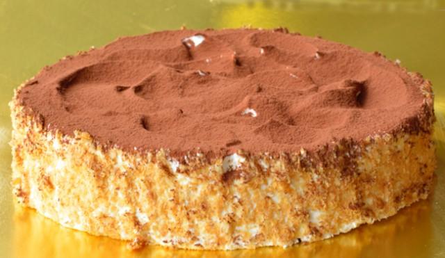 ヴォーノ!!  思わずイタリア人も声を上げた『ティラミス』 直径15cm5号サイズ バースデーケーキ/ギフト/誕生日ケーキ