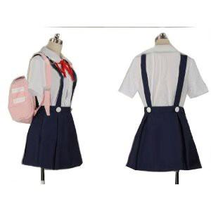 〈物語〉シリーズ 化物語 八九寺真宵 風 コスプレ衣装 完全オーダーメイドも対応可能