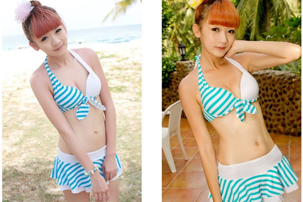 SALE 水着 3点セット とってもお洒落で可愛い水着が超格安で登場 レディース ビキニ