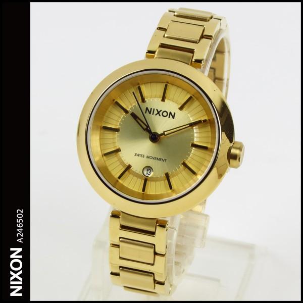 【予約】 在庫あり レディース 送料無料 ニクソン 腕時計 レディース NIXON 時計 THE TESSA THE テッサ A246502 A246-502 テッサ オール ゴールド ALL GOLD, Gambaru ショップ:e9be5c73 --- ai-dueren.de
