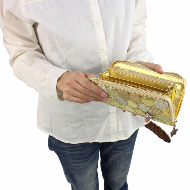 【即納】【送料無料】 ツモリチサト 財布 tsumori chisato CARRY 新マルチドット 長財布 レディース ラウンドファスナー 本革 57093