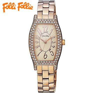 【日本未発売】 wf5r084bpp Follie Folli WF5R084BPP 腕時計 フォリフォリ-腕時計レディース