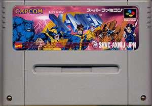 ▲【クリックポスト6個まで164円】SFC スーパーファミコン カプコン X-MEN h-g-sfc-167【中古】