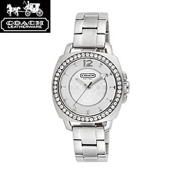 【お1人様1点限り】 COACH ミニ コーチ 14501699 ボーイフレンド ミニ ジルコニア シルバー ジルコニア 腕時計 ウォッチ 腕時計 レディース/import, 彩り品:52910699 --- united.m-e-t-gmbh.de