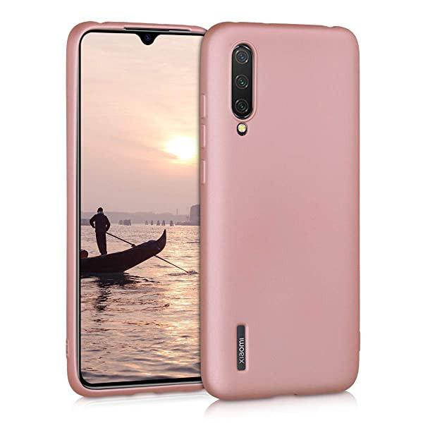 高級感 Xiaomi Mi 9 Lite 用 ケース - TPU スマホカバー - シンプル 携帯 耐衝撃 保護ケース メタリックピンクゴールド 送料無料, 真岡市 aec7fd95