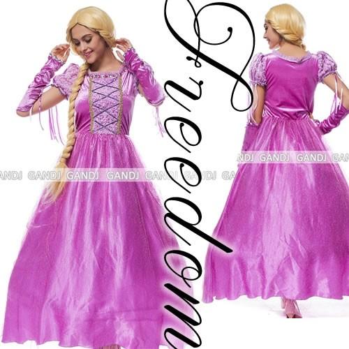 塔の上のラプンツェル プリンセス ディズニー コスプレ 衣装 激安 セール☆「塔の上