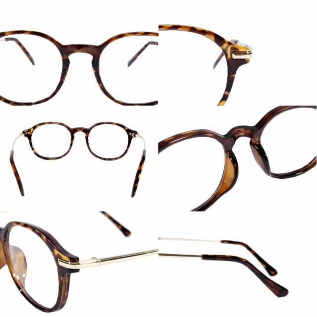 伊達メガネ 黒縁 メンズ ウェリントン メガネ 全2色 新作 眼鏡 黒ぶち眼鏡 黒 ブラック ウェリントン 8(eight) エイト 8