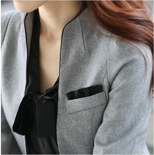 2点セット/オフィスパンツ+スーツ/レディース長袖スーツ/就活 ビジネススーツ制服/大きいサイズあり OL通勤/卒業式スーツS~3XL