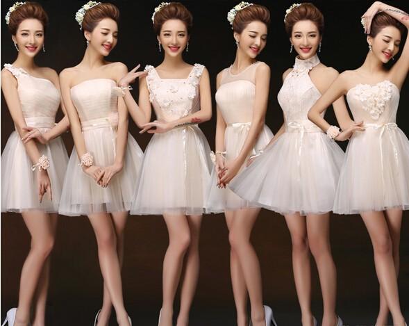 e912726813ceb 高品質 ショート ドレス二次会 ミニウェディングドレス パーティードレス ...