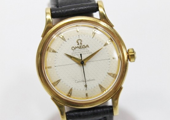 san francisco a5029 adcb6 あす着 OMEGA オメガ メンズ腕時計 アンティーク クロノメーター ハーフローター コンステレーション ゴールド メンズ|au  Wowma!(ワウマ)