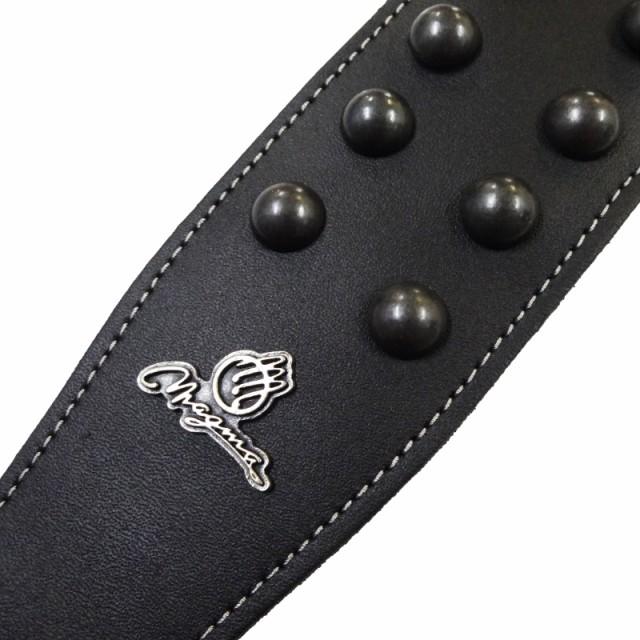MAGMA/マグマ「MG03 Black Round Studded and Black Leather Strap」ブラックラウンドスタッズ&ブラックレザーストラップ