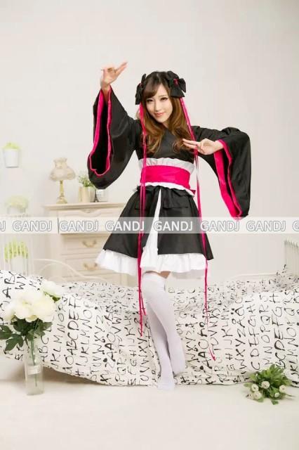 ラブライブ 浴衣 着物ドレス キャラクター ハロウィン コスプレ コスチューム 4018