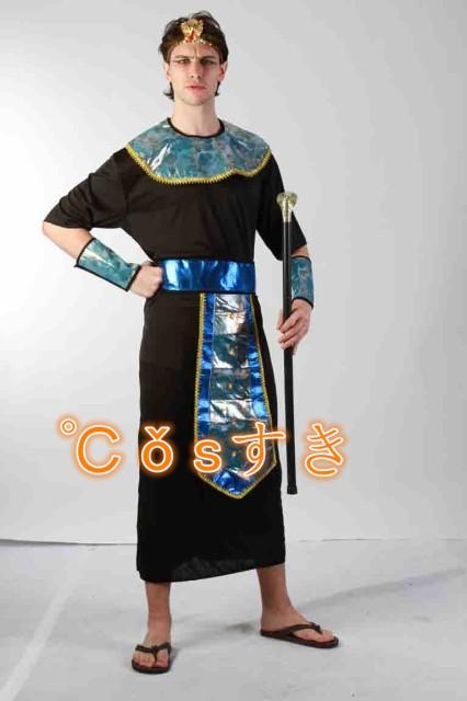 ハロウィン Halloween 異国風情古代エジプトコスプレ衣装 大人 男性 仮装 ステージ 高品質 新品 Cosplay アニメ