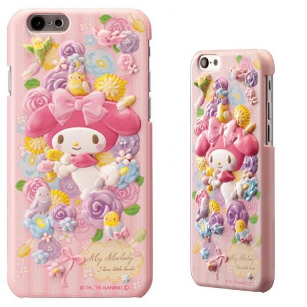 e5efa0a695 iphone6用 サンリオ マイメロちゃん iPhone6 対応 ハードケース マイメロディ レリーフケース 日本 ...