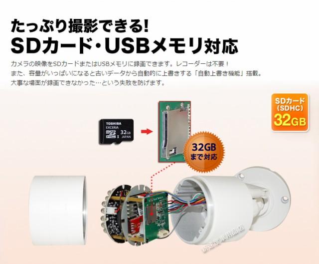 ワイヤレス WiFi 無線 SDカード録画 iPhone スマホ 簡単設定 屋外 屋内 両用 防犯カメラ セキュリティカメラ 監視カメラ 243万画素