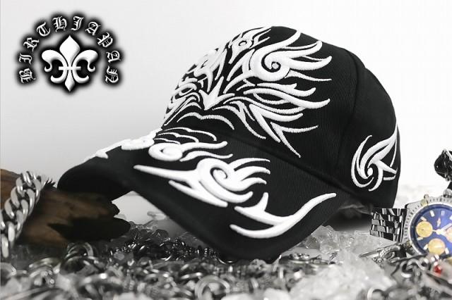 帽子01/激レアトライバルキャップ 龍 キャップ ドラゴン 伊達ワル 悪羅悪羅系 オラオラ系 ヤクザ ヤンキー チンピラ