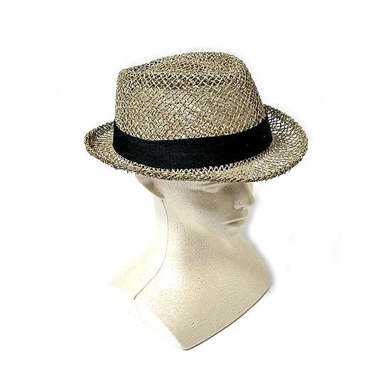 ウォーターリーフ水草の帽子 メッシュ メンズ ハット アジアン雑貨 バリ雑貨 タイ雑貨